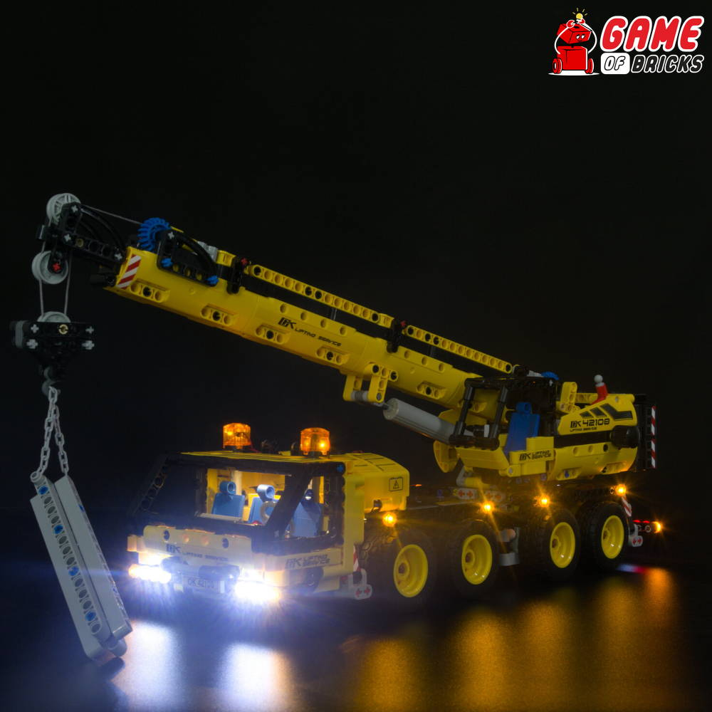 lego crane led light kit