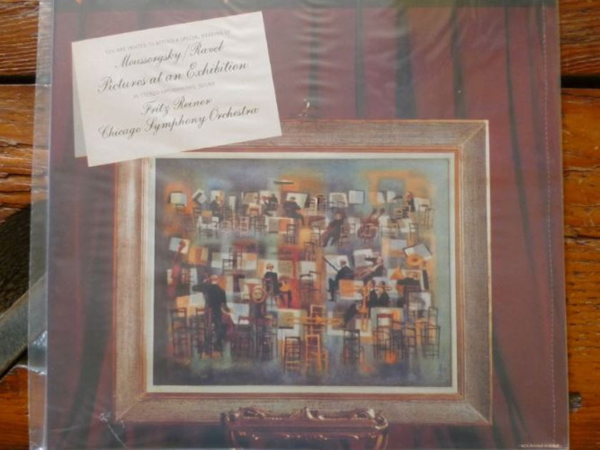Chicago Symphony (Reiner) - Moussorsky:Pictures at an Exhibition lsc2201 Classic Records original reissue 180G 1990's Sealed