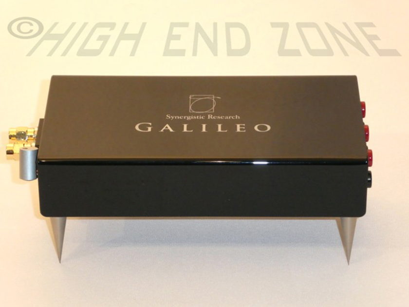 $2,500 Synergistic Research Galileo Universal Speaker Cell, complete set in like new condition