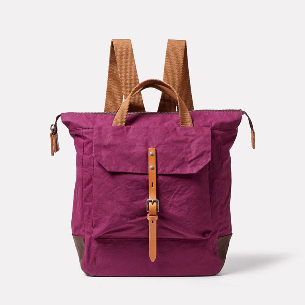 Frances Backpack in Plum