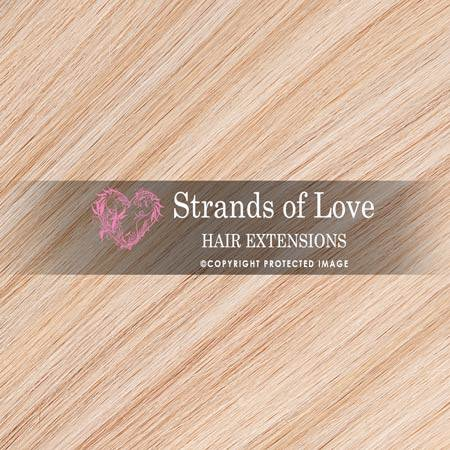 Strands Of Love Hair Extensions Colour Light Vanilla Highlight