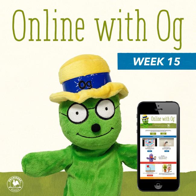 Online with Og website graphic