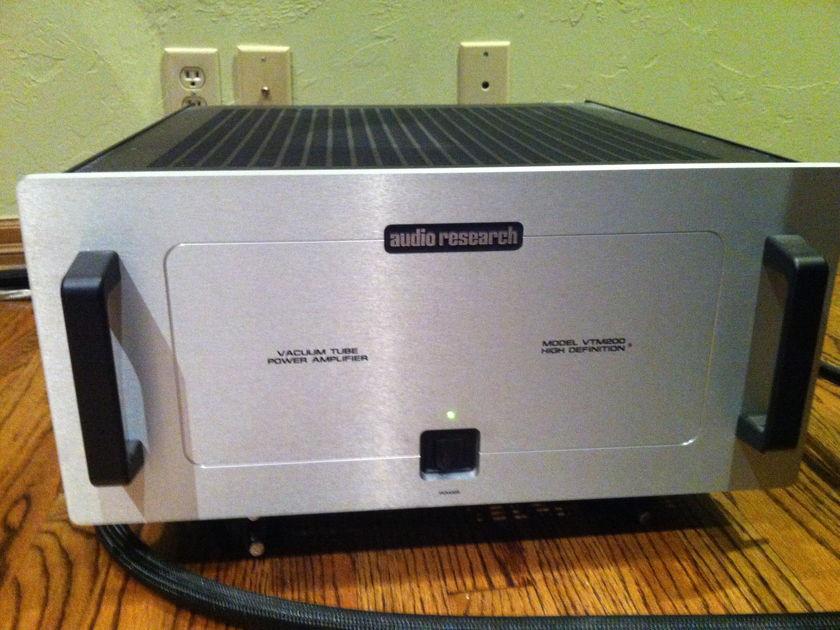 Audio Research VTM200  Mono Block Amplifiers