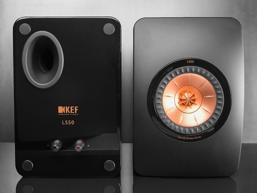 KEF LS50 50th Anniversary Edition Monitor Speakers
