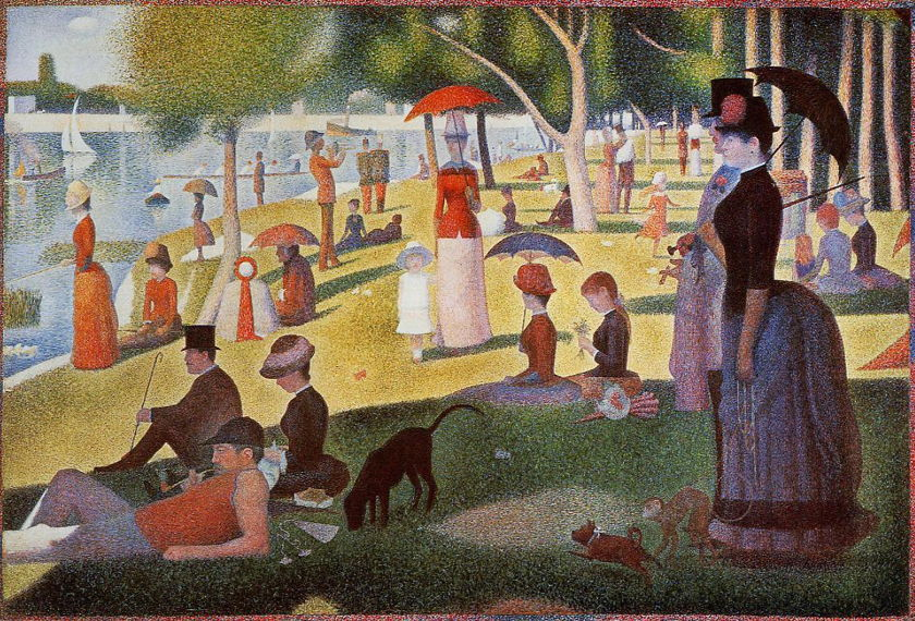 Sunday in the Park with George artwork