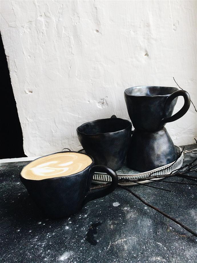 Чашка цвета нефти GUNGA