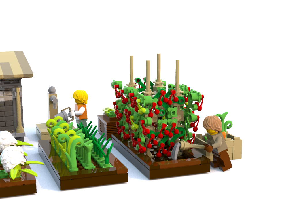 lego tomatoe farm