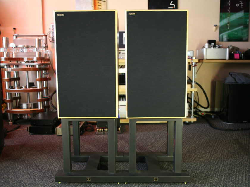 Harbeth  Monitor 40 Ref. Full Range Monitors w/stands!