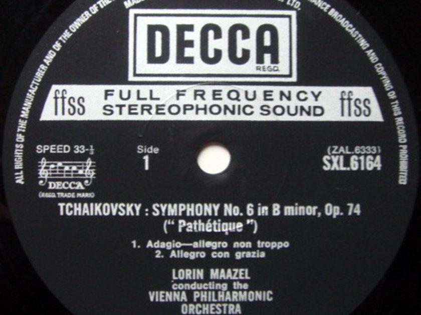 DECCA SXL-NB-ED4 / MAAZEL, - Tchaikovsky Sym No.6 Pathetique, NM!