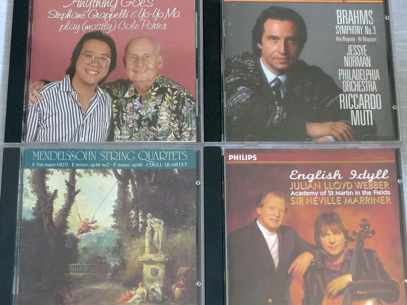 Classical CDs All M/NM CDs 88 CDs + 3 SACDs