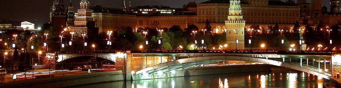 Огни большого города (автобусная экскурсия по вечерней Москве)