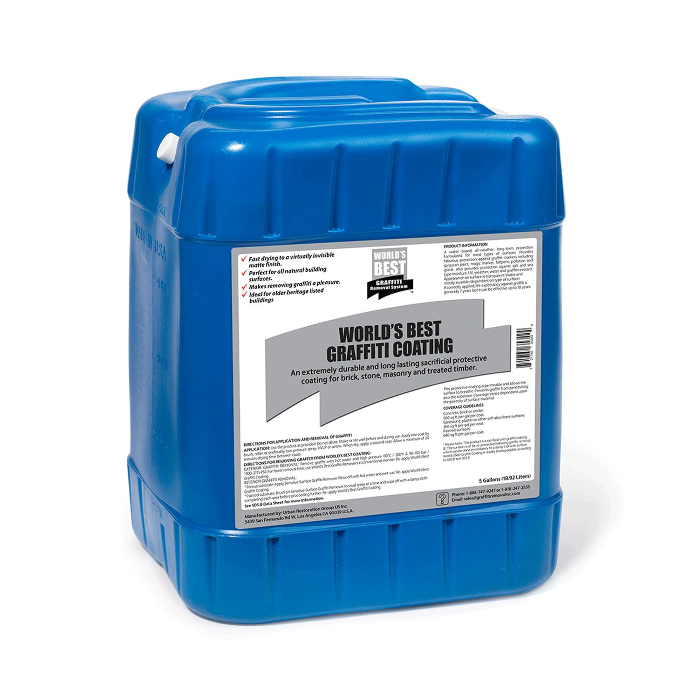 5 gallon pail of graffiti coating