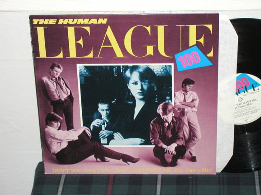 The Human League - Don't You Want Me (Pics) UK import 45rpm 12 er TAS