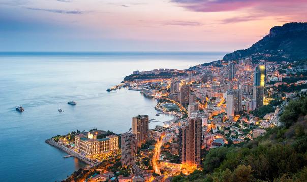 Ночная экскурсия по Монако