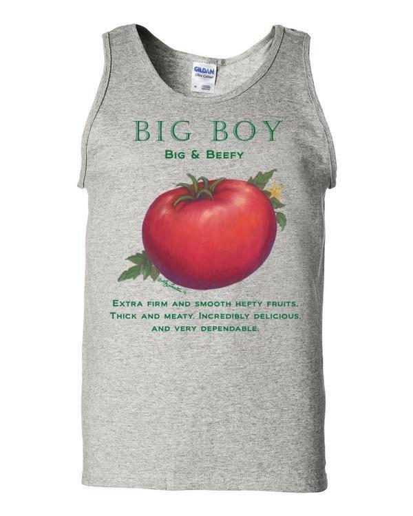 big boy tomato tank by liz lauter