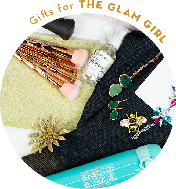 Holiday Gift Guide - Gifts for the Glam Girl