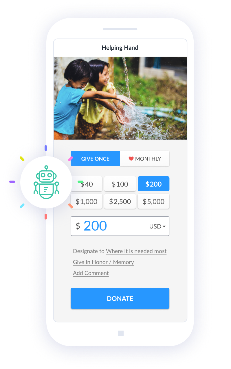 Fundraise Up Mobile Checkout