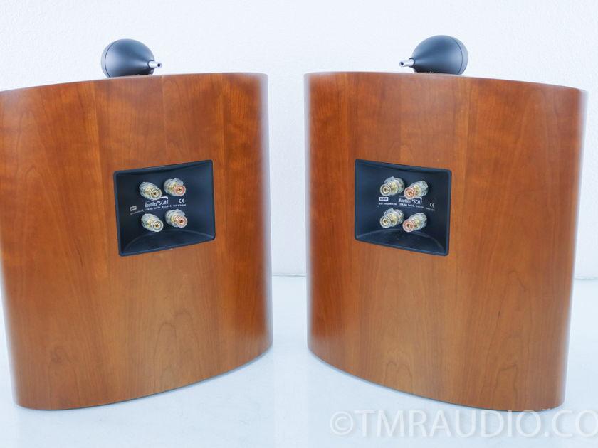 B&W  Nautilus SCM1 Wall-mount Surround Speakers; Pair; Cherry(8454)