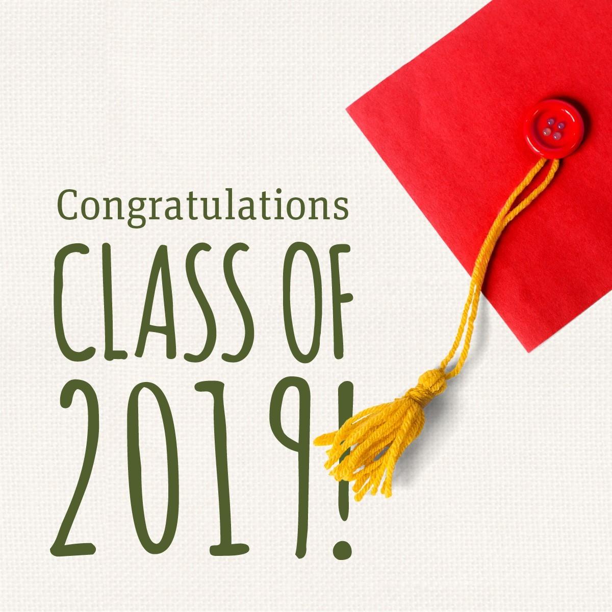 Formal Graduation 2019 Invitation