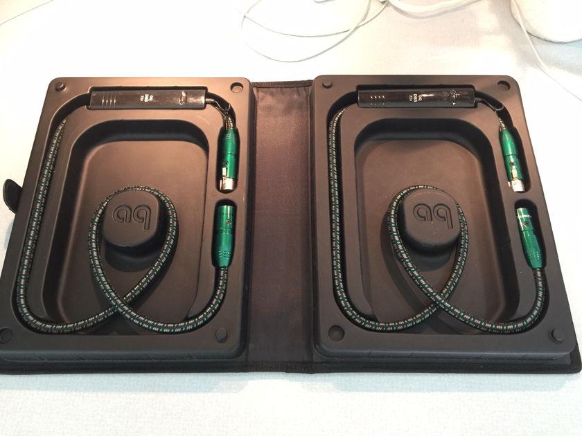 Audio Columbia 1m XLR with 72v DBS packs