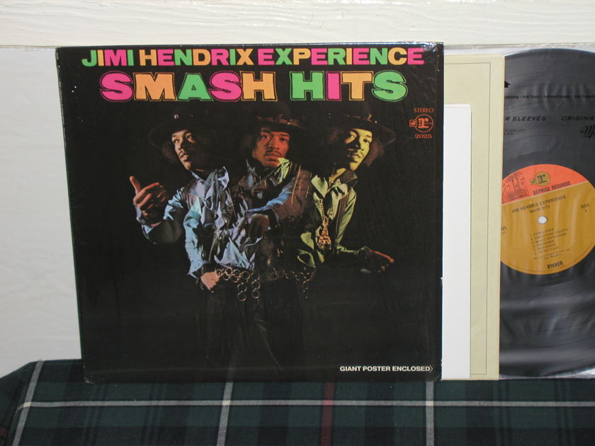Jimi Hendrix - Smash Hits 1 press In shrink w/poster