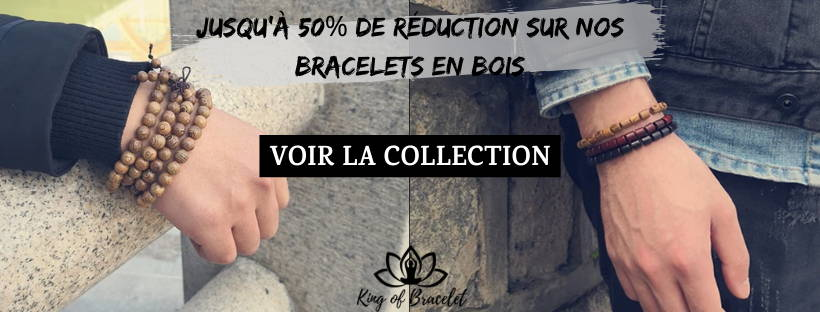 Bracelets en Bois - King of Bracelet