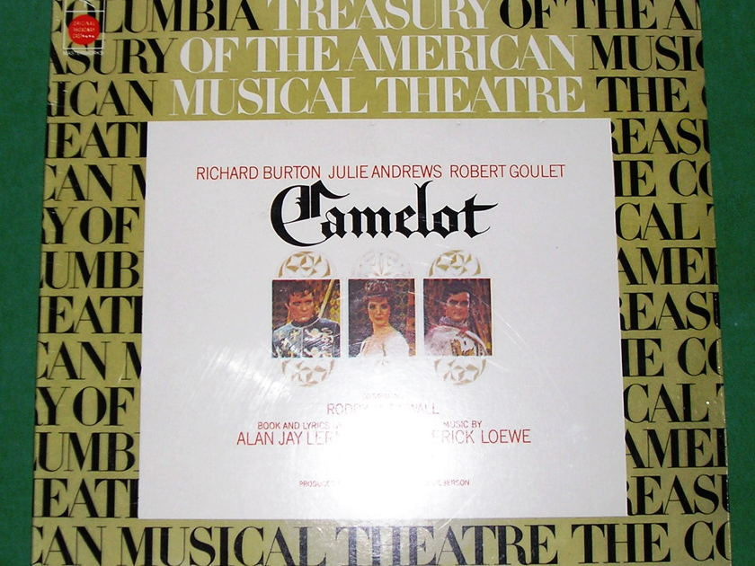CAMELOT - ORIGINAL BROADWAY CAST - 1973 COLUMBIA MASTERWORKS REISSUE ***SEALED***