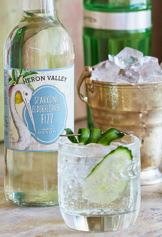 elderflower gin cocktail