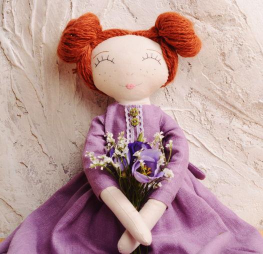 Текстильная кукла Финнета