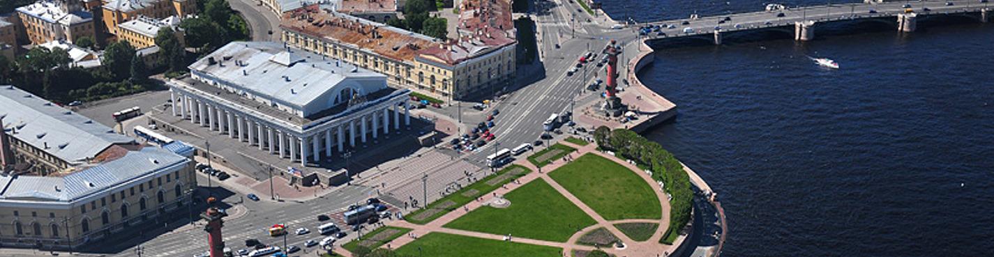 Обзорная экскурсия по Петербургу - Ансамбль биржевой площади