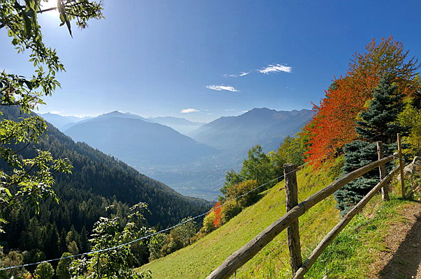 Merano - Late autumn in South Tyrol
