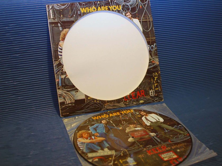 "THE WHO -  - ""Who Are You"" Picture Disk -  MCA 1978"