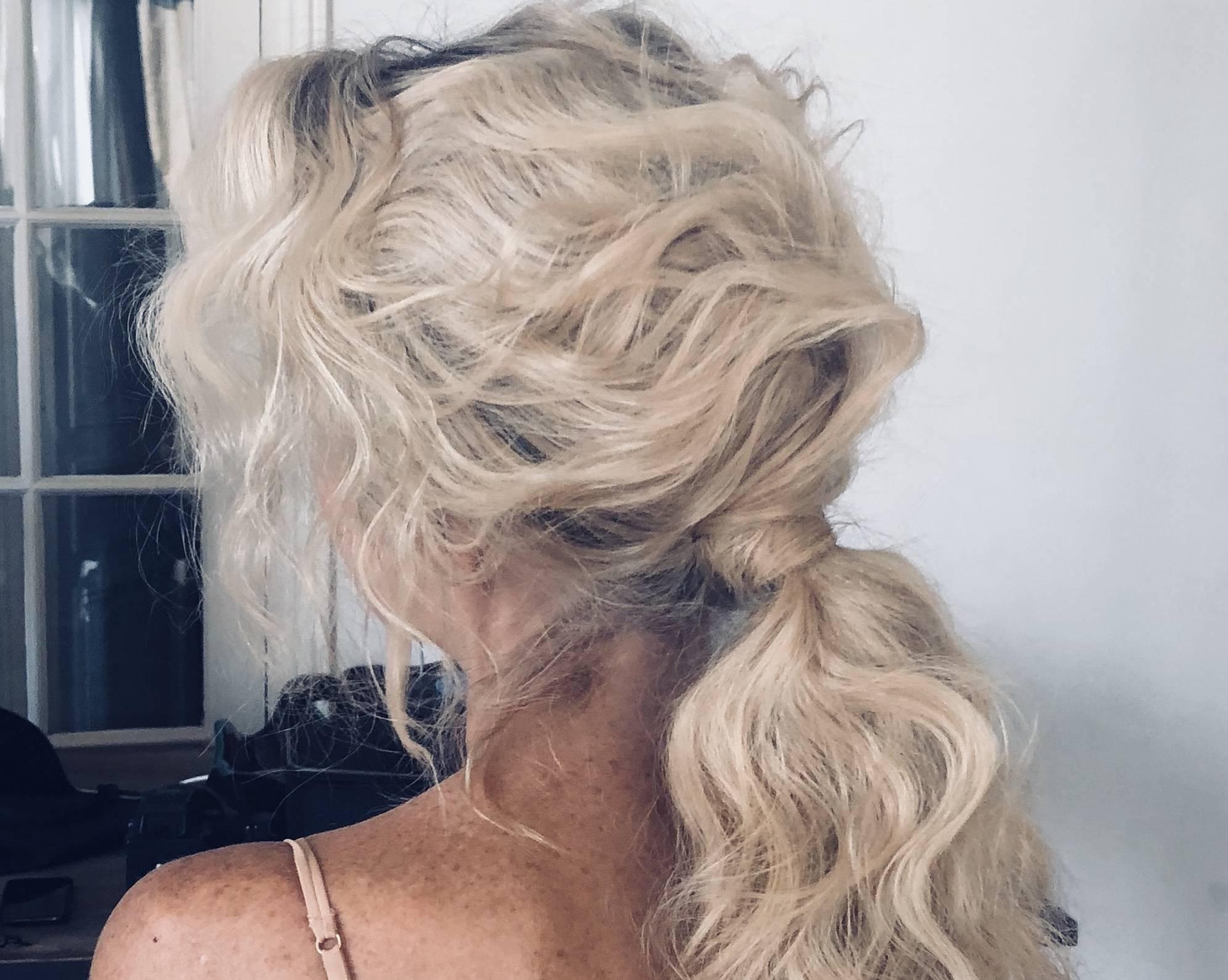 Blonde ponytail Davines how to