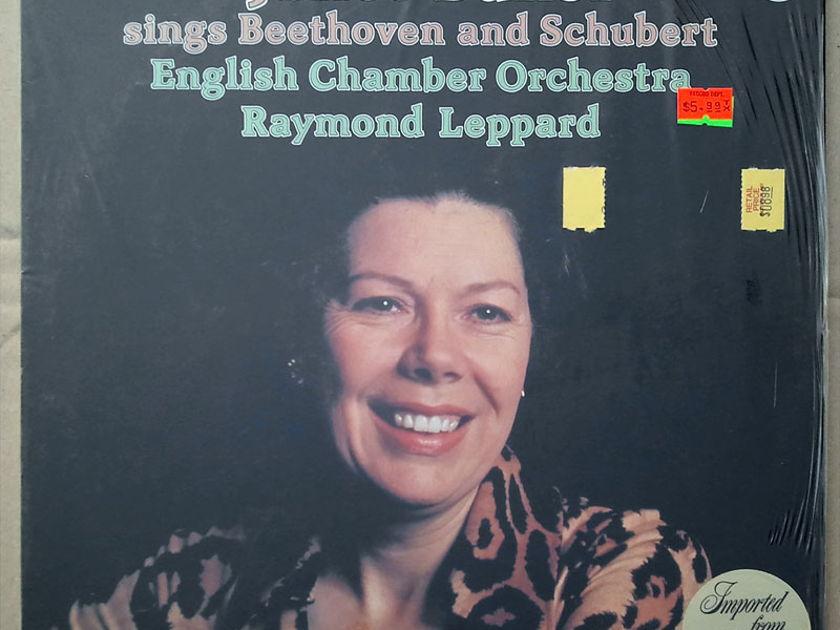 PHILIPS | JANET BAKER - sings BEETHOVEN & SCHUBERT / NM