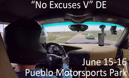 """No Excuses V"" HPDE"