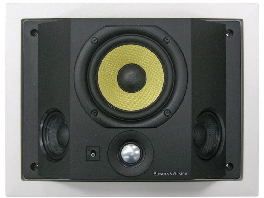 B&W CDS6 S3 Speakers; Pair; White (NEW) (8065)
