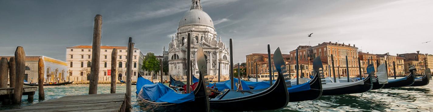 Венеция: пешком, по воздуху и по воде.
