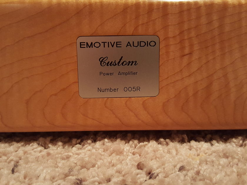 "Emotive Audio Custom ""Vita Lite"" Offers Welcomed ... Need to Sell ... Price Lowered"