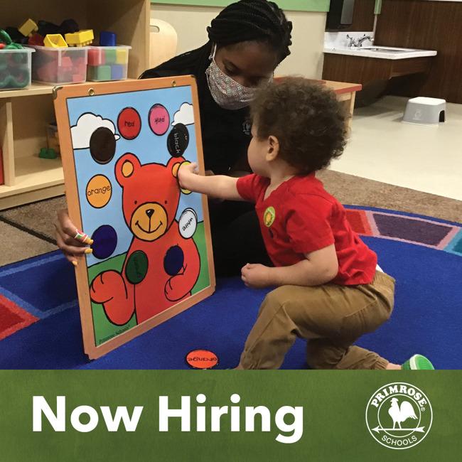 We are hiring a new teacher!