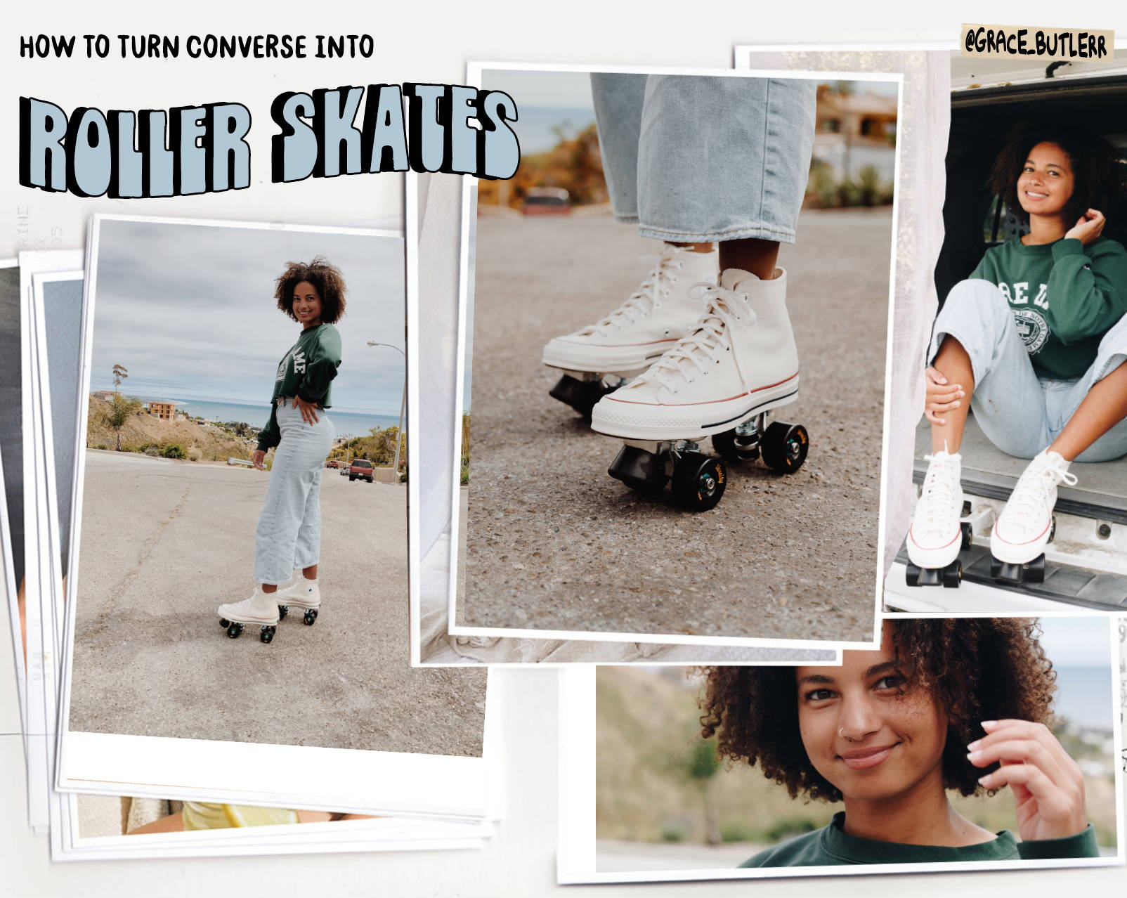 How To Make Converse Roller Skates