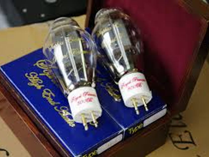 Sophia Electric Royal Princess 300B Tubes Matched pair