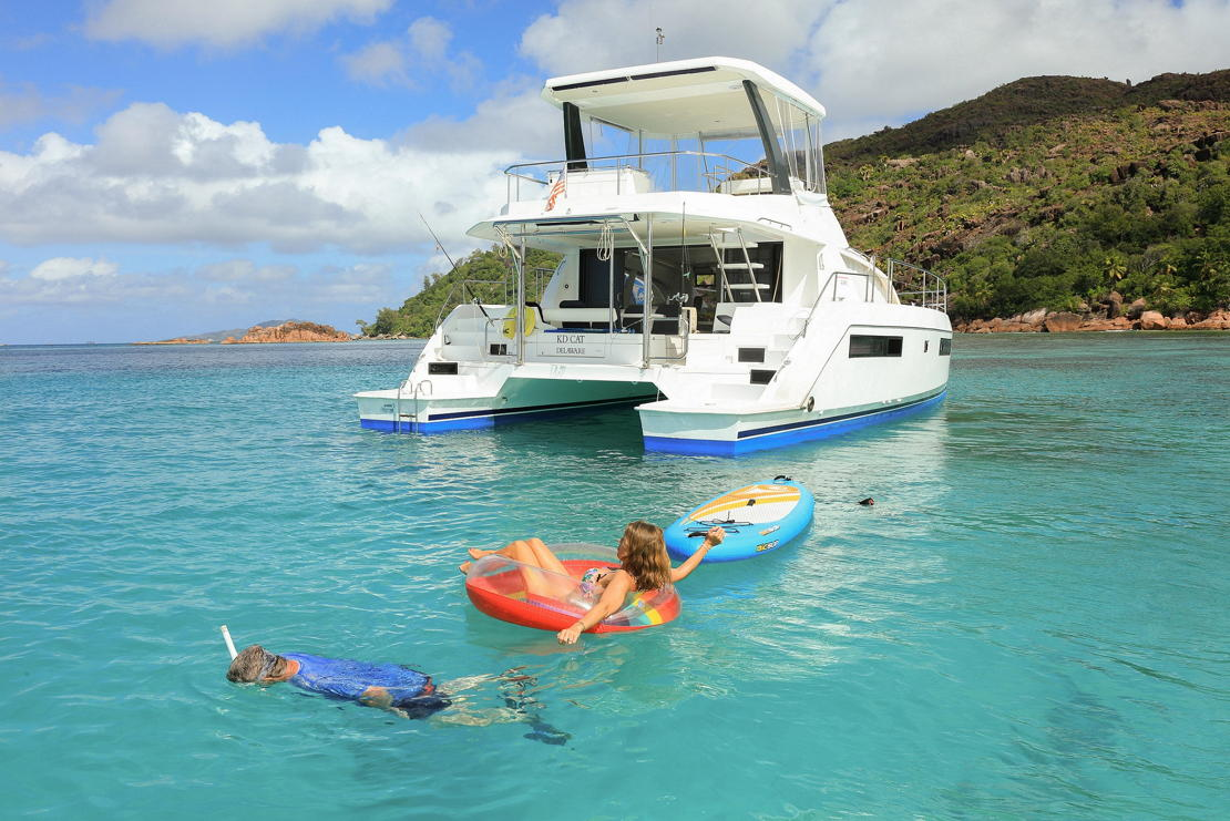 Seychely jachta