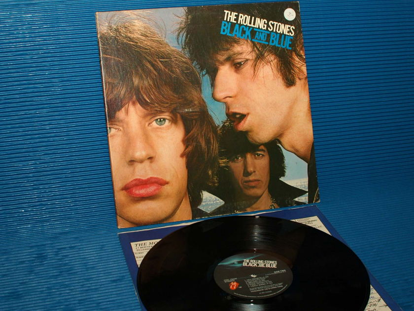 """THE ROLLING STONES -  - """"Black and Blue"""" -  RSR 1976 Mastered by Sterling"""