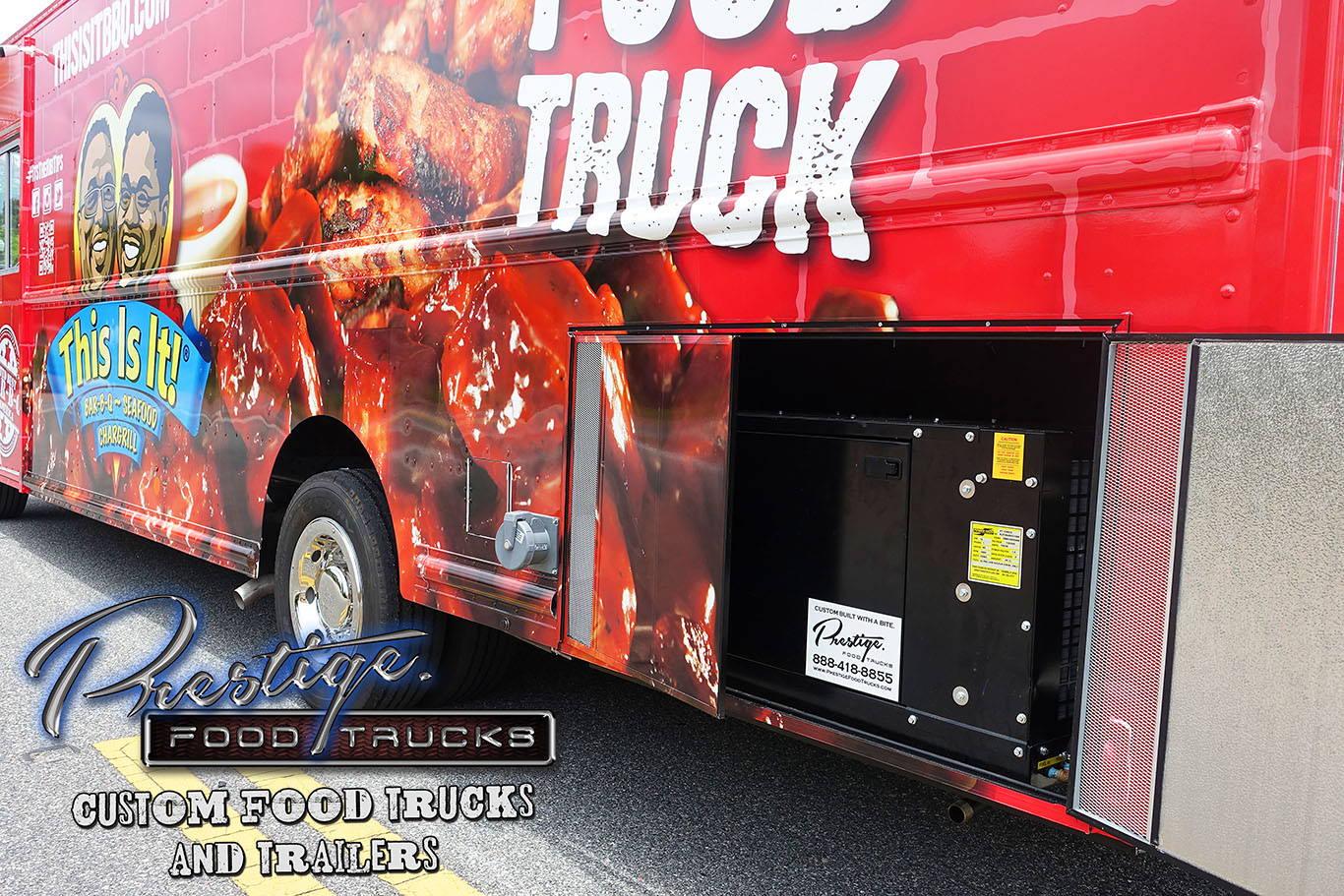 Food Truck diesel generator