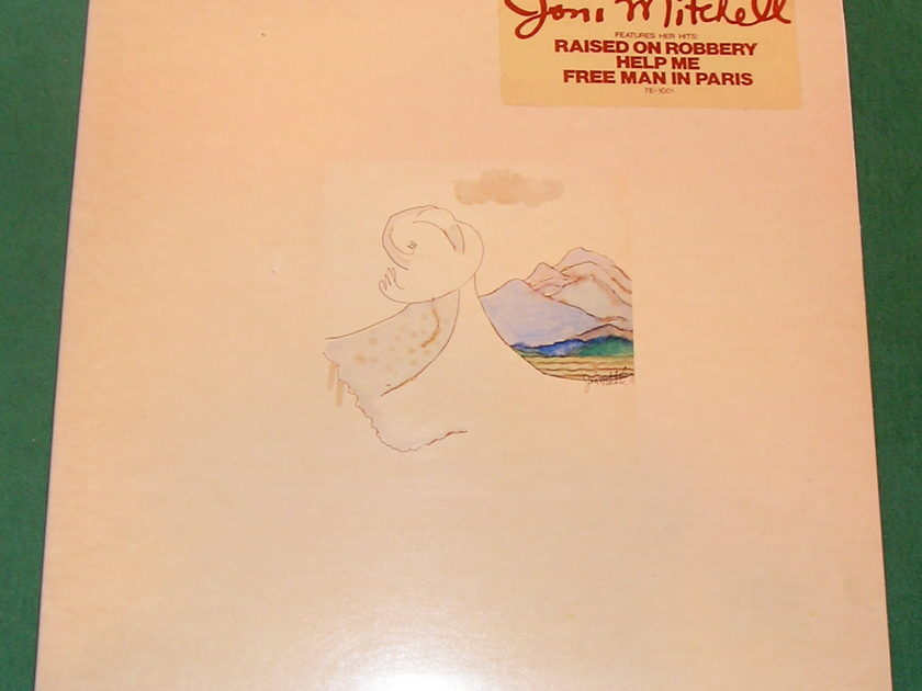 JONI MITCHELL - * COURT AND SPARK * 1982 ASYLUM REISSUE