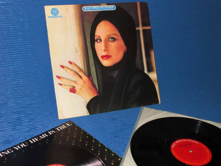 "BARBARA STREISAND -  - ""The Way We Were"" - CBS Audiophile 1982 1st pressing"