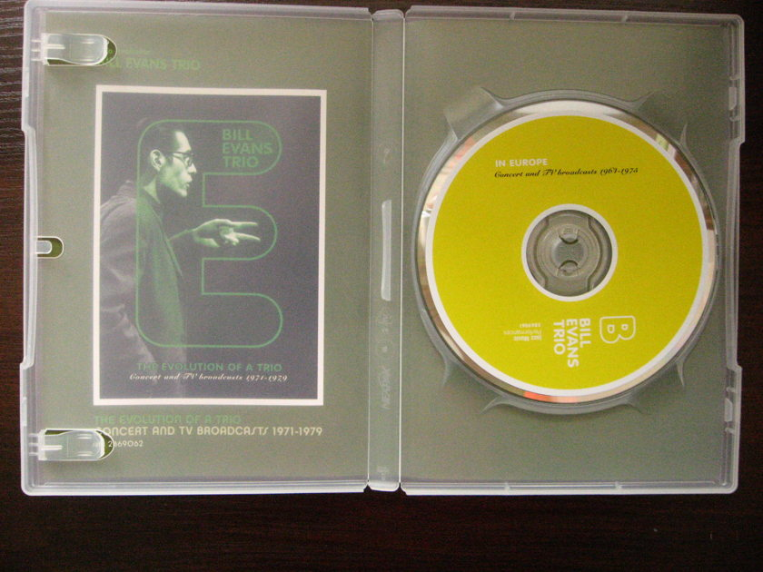 Bill Evans trio - in Europe DVD