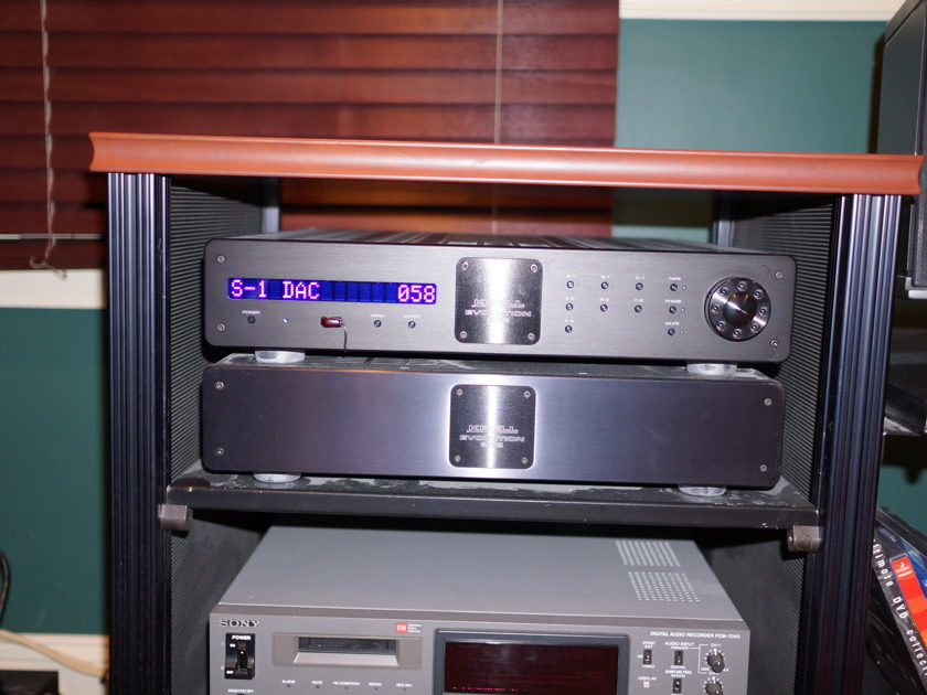 Krell 202 and 505 Pre-amp and SACD player w/cast