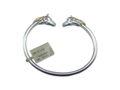 Two-Tone Horse Heads Bracelet