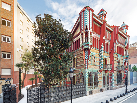 Bologna - Gaudí's Casa Vicens is open to the public again! Experience Barcelona's World Heritage Site up close!
